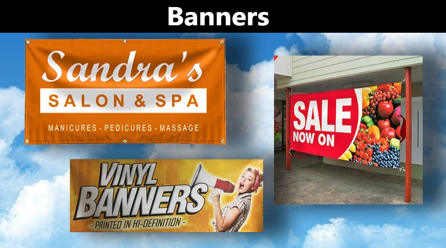 Banner Signs signhere 4