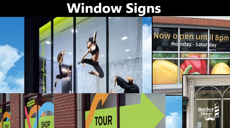 Window Signs Signhere 5